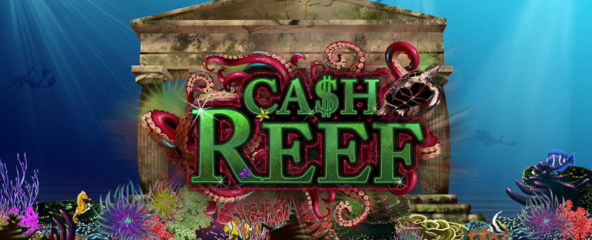 The cash reef is waiting for your to make your spins and with the right symbols and some help of its inhabitants you can be in possession of all the riches and treasures soon. Make sure to go for the treasure chests to trigger the free spins with all wins doubled automatically. This is a no brainer and you should instantly go for the winnings on 243 different ways.