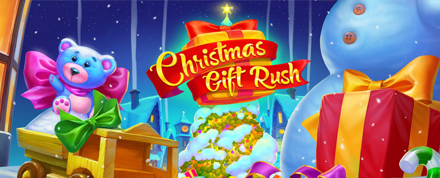 If you wish it could be Christmas every day, then your luck is in! Christmas Gift Rush allows you to celebrate the Yuletide season at any time of the year!