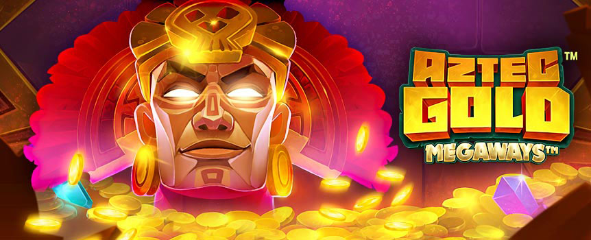 "Venture deep in the ancient temples to Aztec Gold, a new Megaways slot with a unique twist. The 6-reel layout takes the mechanics of classic Megaways games, with cascading wins of up to 117,649 ways, the ""Max Megaways"" feature can result in multiple cascades and Mega Wins!"