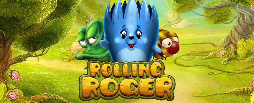 "Get the prizes rolling in with the help of a cute hedgehog called Roger and game supplier Habanero´s clever feature ""Rolling Pays""! With every spin Roger rolls across the reels to collect symbols and prizes, and if more than 6 of any type of symbol is accumulated you will get a profitable Multiplier to increase your winnings. The Rolling Pays feature is pretty innovative, where with every spin Roger will roll over everything from 3 up to 15 positions including the position that he occupied from the start."