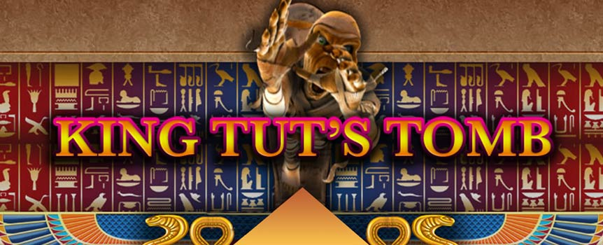 The main star of the game, King Tut himself, plays the role of the Wild symbol and, as such, he substitutes for all other symbols except for the Scatter symbol. Whenever the King appears on the reels, he expands to cover all positions on the reel, expanding your winning potential even further. Helping you create winning combinations is not all the kind king does, as he also doubles your payout! Anubis, the god of the dead with his canine head, is the Scatter symbol that pays in any position.