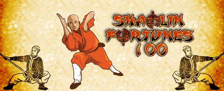 Shaolin Fortunes 100 transports players once again into the serene yet edgy surroundings of the ancient Chinese temple. Functioning on a standard 5-reel format, the game packs a great deal of jackpot diversity and winning potential – alongside one of the best themes on offer within the current video slots market. Players must use each of the integrated symbols to their own advantage, as is the case across the board with games such as this. The better and more intricate the combinations, the more hefty the wins.