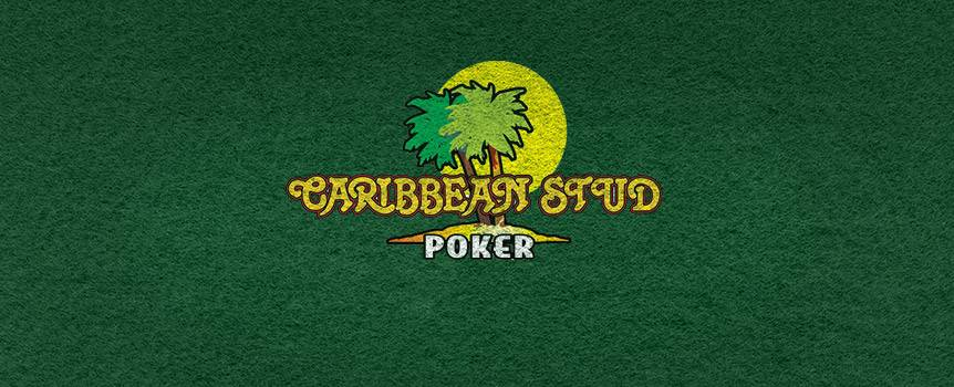 Love to play poker, but don't have time to play a whole game? Learn how to play Caribbean Stud Poker with Our Casino and see if you can grab the Progressive Jackpot. Caribbean Stud shares a Progressive Jackpot with Caribbean Hold'em and Caribbean Draw Poker, allowing the jackpot to accumulate quickly.