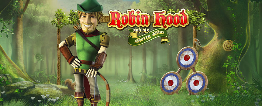 Join Robin Hood and his band of merry men as they go up against the rotten King John and sheriff of Nottingham. The action takes place on five reels in Sherwood Forest, which is teeming with bonus features.
