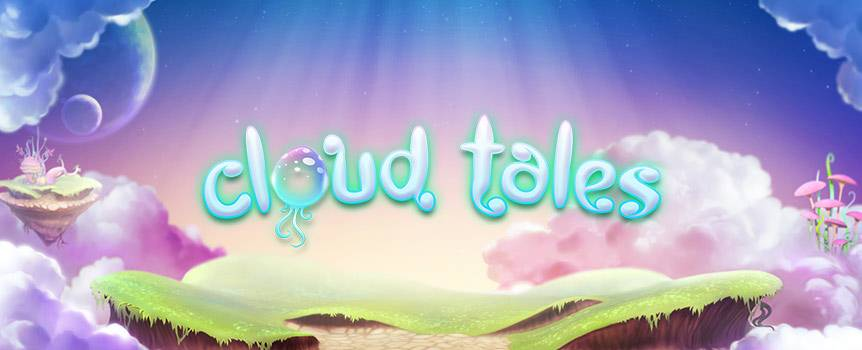 Join these wild and wonderful creatures as they exist blissfully on colourful clouds and floating mushrooms in Cloud Tales. Spin through the craziest characters you could ever imagine in this 5-reel, 9-line slot as you look out for the Mushroom Island Wild symbol that replaces all other symbols, as well as the Mystery Egg symbol to trigger a special bonus in this psychedelic mythical world.