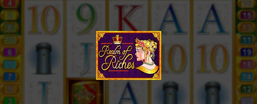 Welcome to the Realm of Riches, where the highborn bask in the glow of precious metals, the shimmer of silken clothes, and the sparkle of rare gemstones. In a realm so blessed with wealth, even the knights adorn their shields with gold.