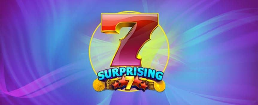 The perfect amount of samurai, the number of colours in a rainbow, the amount of days in a week or the lucky symbol on this slot, yep, you guessed it, it's the number 7. Surprising 7 is a 5-reel, 25-payline online slot that, unsurprisingly is based around the number 7.