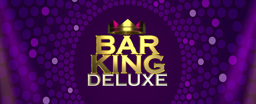 If you like a simple pokie that is easy to play, but still has humungous Payouts on offer, then Bar King Deluxe is the ideal game for you! With just 3 Rows, 5 Reels and 10 Paylines as well as only 3 Symbols this pokie couldn't be simpler.