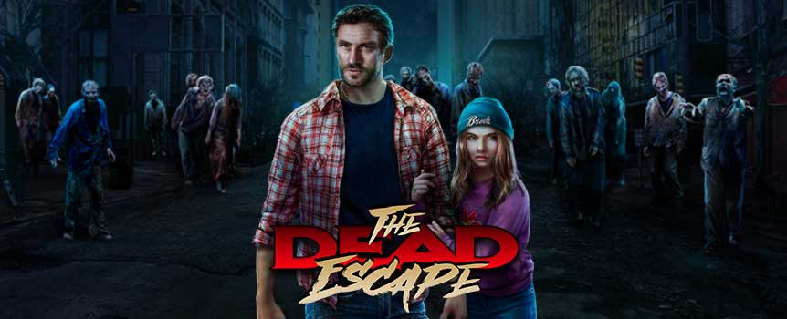 Fans of the horror genre, especially the post-apocalyptic zombie kind, will appreciate The Dead Escape. The terrifying zombie is the Wild symbol that substitutes for any other symbols apart from the Scatter symbol. The Wild symbol may expand to cover all positions on the reel, expanding your winning potential to a whole new level! The Scatter symbol is a red truck that pays out regardless of its position on the reels. If three or more trucks drive out to the reels, you win Free Games.