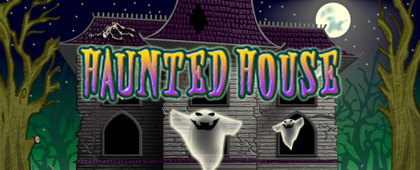 Creepy things can catch up with you at any time. There are secrets hidden in the basement of the haunted house with different wilds and a bucket full of free spins. The wilds in this game are Frankenstein, actually Frankenstein's Monster and the Vampiress. Frankenstein's Monster ist the normal wild and substitues for all other symbol except the scatter.