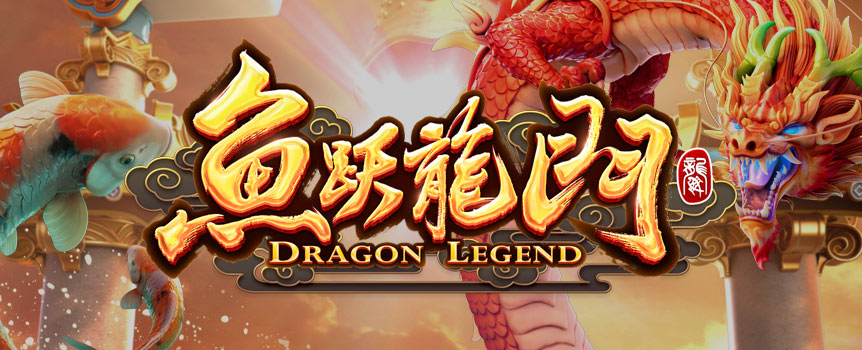 FORTUNE AWAITS AS THE DRAGON EMERGES FROM THE DRAGON GATE!  When the koi leaps across the Dragon Gate, the destined ones will receive fortune and wealth. Paired Koi will reward you with free spins, while amazing surprises awaits you in the bonus mode!