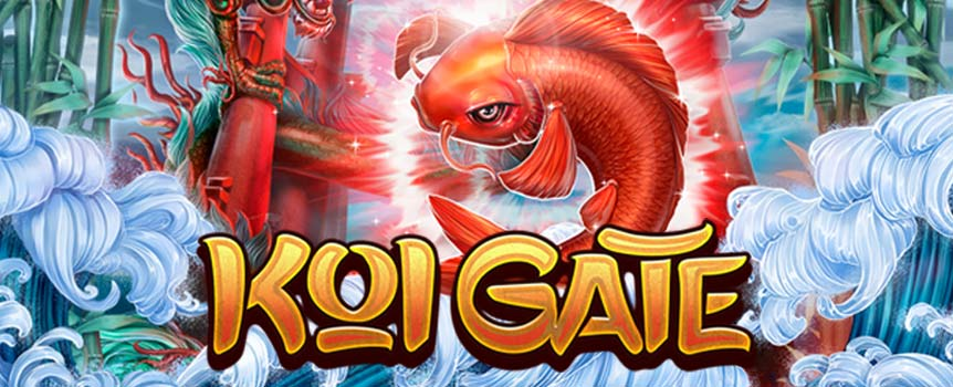 Legends and myths has surrounded this type of fish throughout history and even today keeping koi is a very popular hobby in Chinese and Japanese culture. Enter the game and you will see a whirlwind of animations and symbols perfectly made for the theme of the game. There are 18 fixed paylines which present you with great winning opportunities in a Slot that comes in a traditional 5x3 setup and some interesting bonuses.